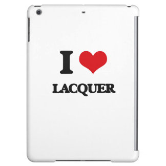 I Love Lacquer iPad Air Cover