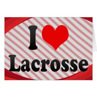 I love Lacrosse Card