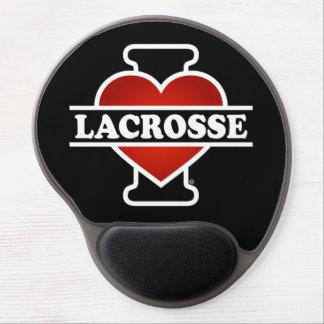 I Love Lacrosse Gel Mouse Pad