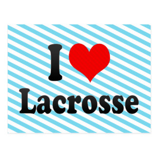 I love Lacrosse Post Cards