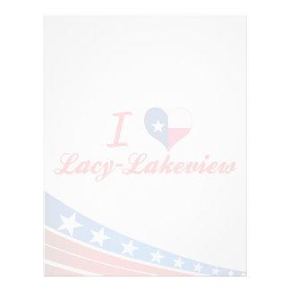 I Love Lacy-Lakeview, Texas Custom Letterhead