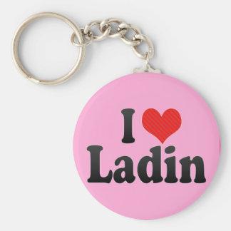 I Love Ladin Key Chain