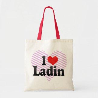 I Love Ladin Tote Bag