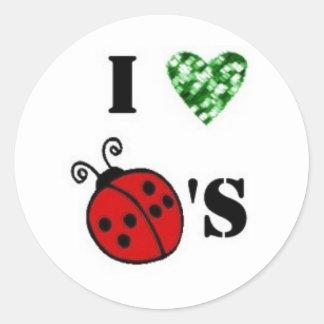 I love ladybug Sticker