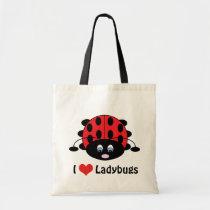 I Love Ladybugs Bag