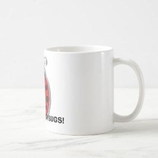 I LOVE LADYBUGS! CLASSIC WHITE COFFEE MUG