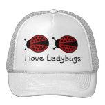 I love Ladybugs hat