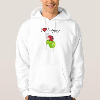 I Love Ladybugs Hoodie