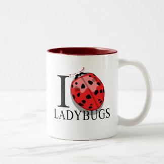 I Love Ladybugs Mugs