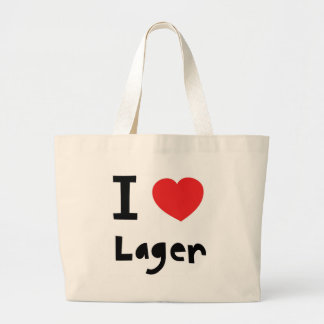 I love Lager Canvas Bags