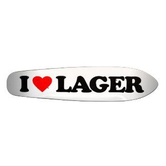 I LOVE LAGER SKATEBOARD