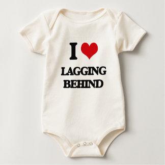 I Love Lagging Behind Baby Bodysuit