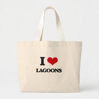 I Love Lagoons Canvas Bag