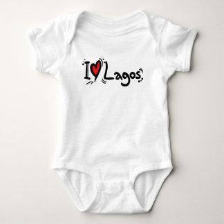 I Love Lagos Baby Bodysuit