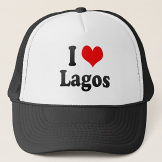 I Love Lagos, Nigeria Trucker Hat