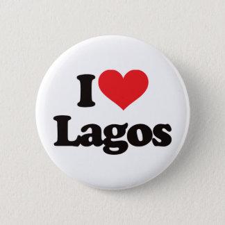 I Love Lagos Pinback Button
