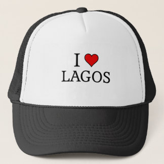 I love Lagos Trucker Hat