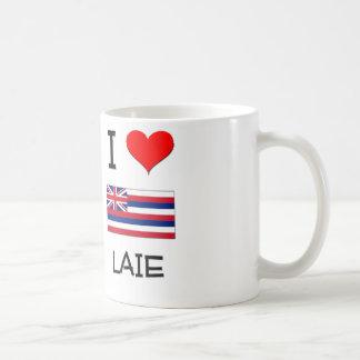 I Love LAIE Hawaii Mug