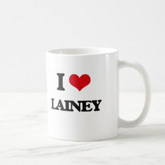 I Love Lainey Basic White Mug