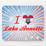I Love Lake Annette, Missouri Mouse Pad