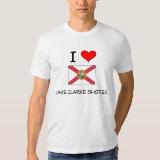 I Love LAKE CLARKE SHORES Florida Shirts