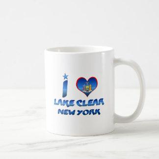 I love Lake Clear, New York Mug