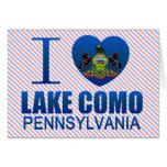 I Love Lake Como, PA Card