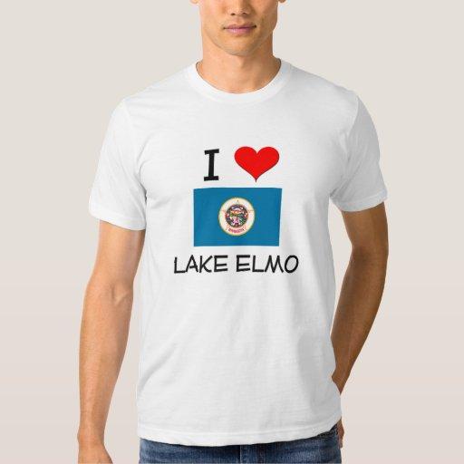 I Love Lake Elmo Minnesota Tee Shirts