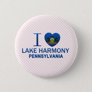 I Love Lake Harmony, PA Button