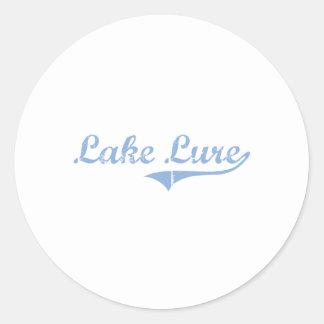 I Love Lake Lure North Carolina Classic Round Sticker