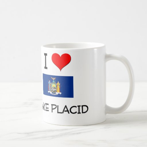 I Love Lake Placid New York Classic White Coffee Mug
