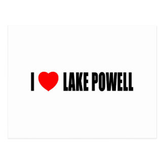 I Love Lake Powell Postcard