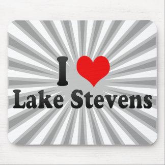 I Love Lake Stevens, United States Mousepads