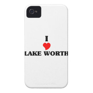I love Lake Worth iPhone 4 Case-Mate Case