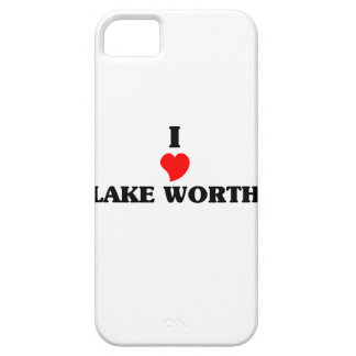 I love Lake Worth iPhone 5 Cases