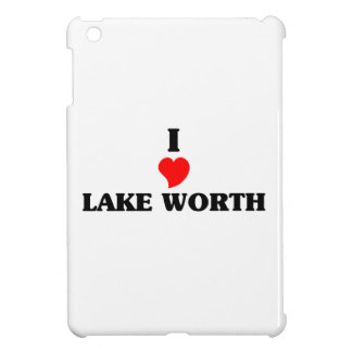 I love Lake Worth iPad Mini Cover