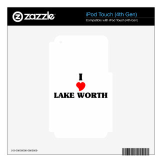 I love Lake Worth Skin For iPod Touch 4G