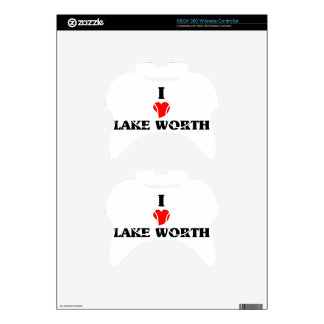 I love Lake Worth Xbox 360 Controller Skin