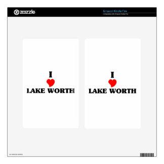 I love Lake Worth Kindle Fire Skins
