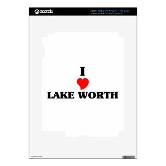 I love Lake Worth iPad 3 Skins