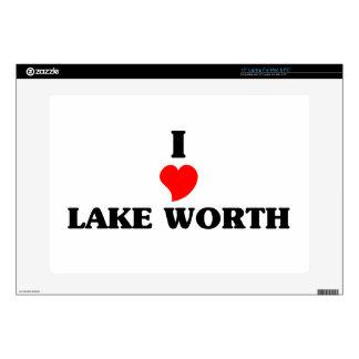 I love Lake Worth Laptop Skins