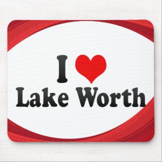 I Love Lake Worth United States Mousepad