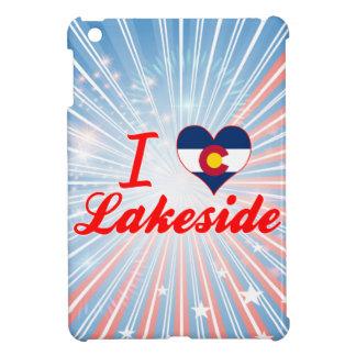 I Love Lakeside Colorado iPad Mini Covers