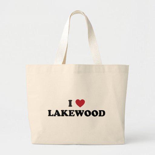 I Love Lakewood Colorado Bags