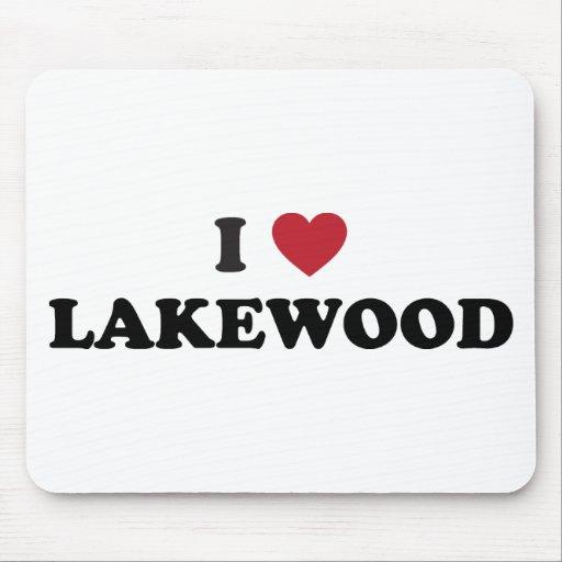 I Love Lakewood Colorado Mouse Pad