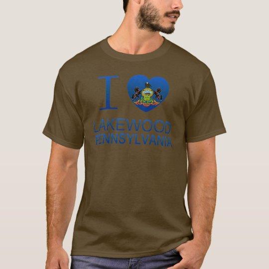 I Love Lakewood, PA T-Shirt