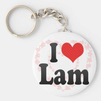 I Love Lam Key Chains