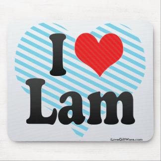 I Love Lam Mousepad