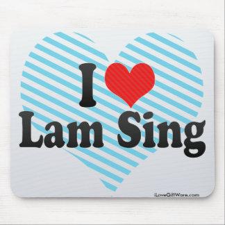 I Love Lam Sing Mousepads