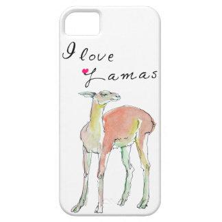 I love Lamas illustration iPhone SE/5/5s Case